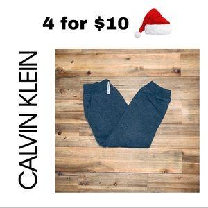 Boys Calvin Klein Sweatpants, Size 6, Gray